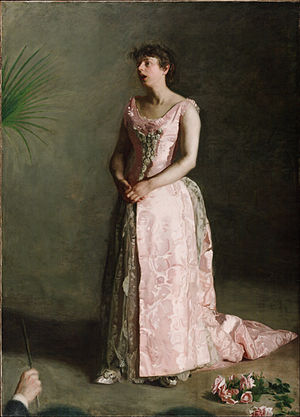 The Concert Singer - Image: Thomas Eakins, American The Concert Singer Google Art Project