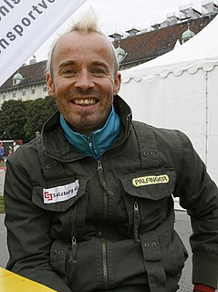 Thomas Geierspichler Austrian Paralympic athlete