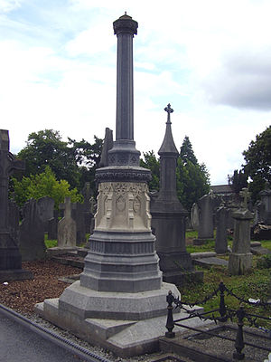 Thomas Henry Burke (civil servant) - Image: Thomas Henry Burke Monument