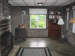 Thomas Merton hermitage interior2 (Abbey of Ge...