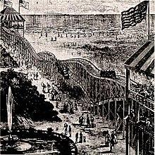 Thompsons Switchback Railway 1884