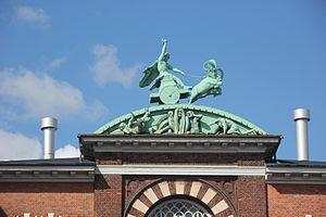Carl Johan Bonnesen - Image: Thor sculpture (Ny Carlsberg Bryghus)