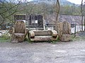 Three Carved Benches - geograph.org.uk - 1243928.jpg