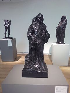 <i>Balzac in the Robe of a Dominican Monk</i> sculpture by Auguste Rodin