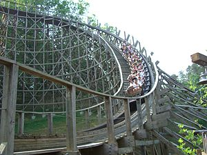 Thunderhead (roller coaster) - Image: Thunderhead (Dollywood) 02