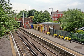 Rice Lane railway station Railway station on the Kirkby Branch of the Northern Line in Liverpool, England
