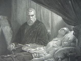 Tintoretto am Todtenbette seiner Tochter