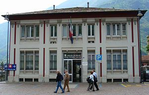 Tirano (Rhaetian Railway station) - Tirano Rhaetian Railway station