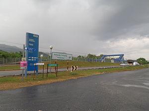 Tiroi Komuter station - Image: Tiroi Railway Station