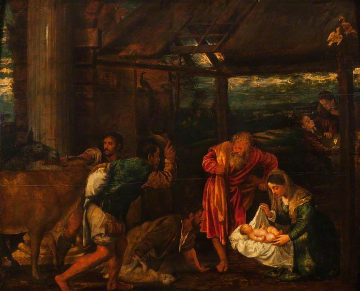 File:Titian - The Adoration of the Shepherds OU CHCH JBS 79.jpg
