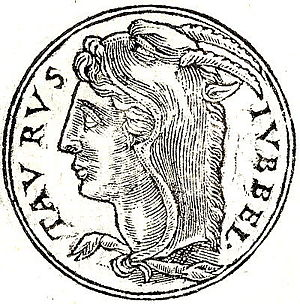 Titus Statilius Taurus - A depiction of Titus Statilius Taurus (I) from the Promptuarii Iconum Insigniorum.