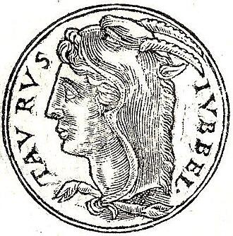 Titus Statilius Taurus - A depiction of Titus Statilius Taurus (I) from the Promptuarii Iconum Insigniorum.