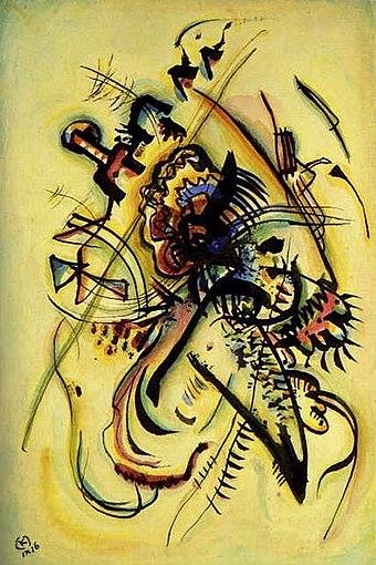 wassily kandinsky an die unbekannte stimme 1916 - Wassily Kandinsky Lebenslauf