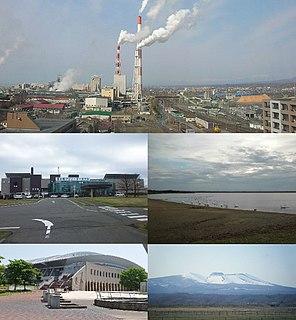 Tomakomai City in Hokkaido, Japan