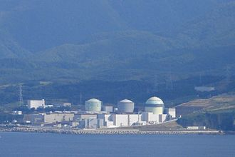 Nuclear power in Japan - The Tomari Nuclear Power Plant.