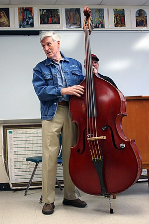 Tom Gray - Tom Gray teaching at the DC Bass Strummit in McLean, VA.