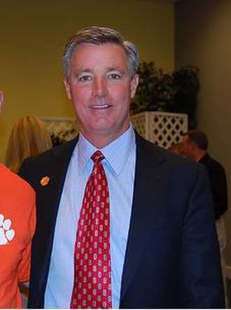 Tommy Bowden - Tommy Bowden as head football coach at Clemson