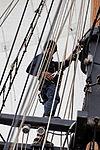 Tonnerres de Brest 2012 - La Recouvrance - Le gabier - 204.jpg