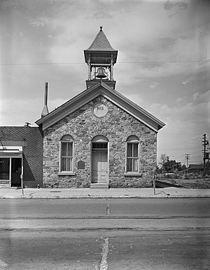 Tooele County, Utah - The old Tooele County Courthouse was site of a political power struggle in 1874.