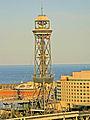 Torre de Jaume I, Telefèric del Port.jpg
