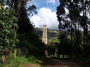 Subachoque - Image: Torre de la Ferreria