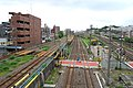 Toukaidou line takashima line divergence.JPG