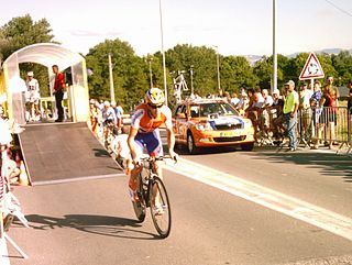 Thomas Rabou Dutch bicycle racer