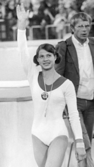 Ludmilla Tourischeva - Tourischeva at the 1972 Summer Olympics