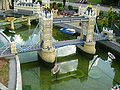 Tower Bridge in Miniland, Legoland Windsor.JPG