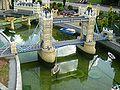 Tower Bridge in Miniland, Legoland Windsor.JPG