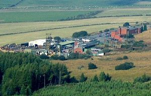Coal industry in Wales - Tower Colliery, the last deep mine in Wales, closed in 2008.