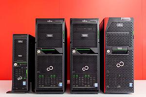 Primergy - Different form factors of Fujitsu PRIMERGY Tower Server