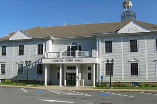 Carver, Massachusetts Town in Massachusetts, United States
