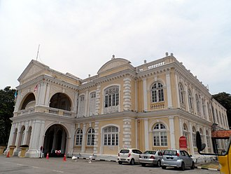 Town Hall, Penang - Image: Town Hall, George Town, Penang