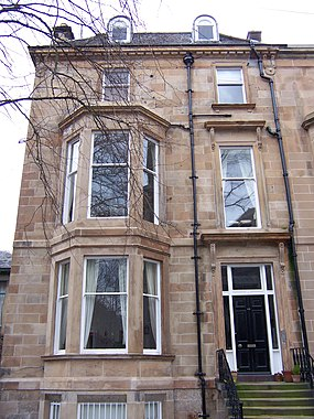 Townhouse in Hyndland, Glasgow, Scotland.jpg