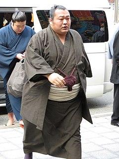 Toyonoshima Daiki Japanese sumo wrestler