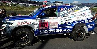 Toyota Auto Body - 2018 TLC Rally Dakar contender