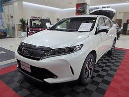 Toyota HARRIER TURBO ELEGANCE (DBA-ASU60W-ANTMT) front.jpg