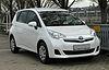Toyota Verso-S 1.33 VVT-i Life – Frontansicht (1), 31. März 2011, Mettmann.jpg