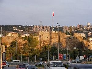 Walls of Trabzon - Image: Trabzon walls