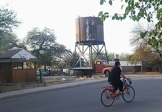 Chamical - Image: Train Water Tower
