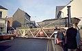 Train of coal from Snibston Colliery crossing Belvoir Road, Coalville (2) Nigel Tout, 7.12.83.jpg