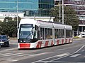 Tram 503 at Viru Square Tallinn 25 August 2015.JPG