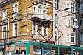 Tram in Sofia near Central mineral bath 2012 PD 070.jpg