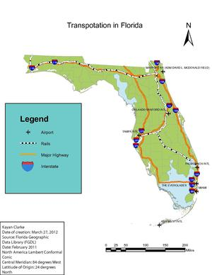 Transportation In Florida Wikipedia