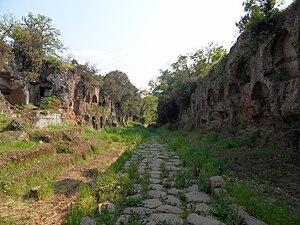 Falerii - Tre ponti necropolis