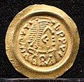 Tremisse a nome di maurizio tiberio, ticinum-pavia 625-675 ca. 04.jpg
