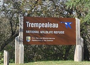 Trempealeau National Wildlife Refuge - Image: Trempealeau National Wildlife Refuge Sign