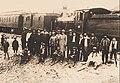 Tren en estación de Pichilemu, 1926.jpg