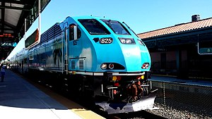 Brookville BL36PH - A BL36PH in service for Tri-Rail